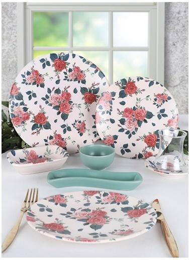 Keramika Kahvaltı Takımı Renkli